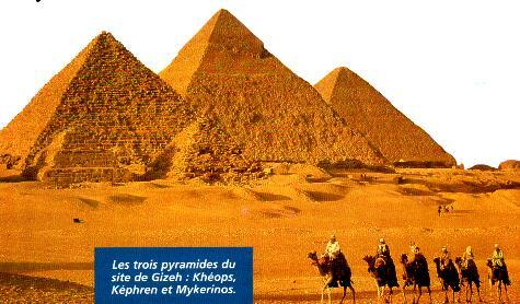 Les 7 merveilles du monde Pyramides